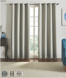 60-off-NEW-Cruz-Blockout-Eyelet-Curtains on sale