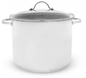 The-Cooks-Collective-Stainless-Steel-Stockpot-24cm-8L on sale