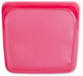 Stasher-Sandwich-Bag-450ml-Raspberry on sale