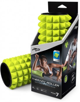 NEW-PTP-Massage-Therapy-Roller-Soft-in-Lime on sale