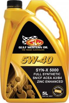 Gulf-Western-Syn-X-5000-Engine-Oil on sale