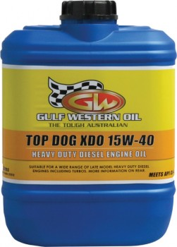 Gulf-Western-Top-Dog-XDO-Diesel-Engine-Oil on sale