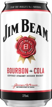 Jim-Beam-White-Cola-4.8-Premix-Cans-375mL-10-Pack on sale