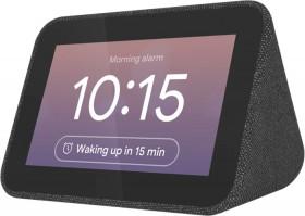 Lenovo-Smart-Clock-with-Google-Assistant-Black on sale