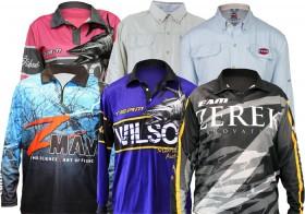 All-Fishing-Shirts-by-Daiwa-Penn-ZMan-Wilson-Zerek on sale