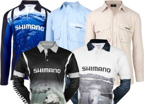 All-Fishing-Shirts-by-Shimano-Columbia on sale