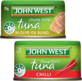 John-West-Tuna-Tempters-90g-95g on sale