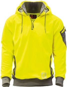 ELEVEN-Hi-Vis-Brushed-Fleece-Hoodie on sale