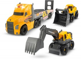 Dickie-Toys-Mac-and-Volvo-Heavy-Loader-and-Truck-Set on sale