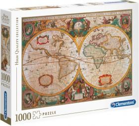 Clementoni-1000pc-Mappa-Antica-Puzzle on sale