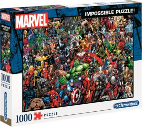Clementoni-1000pc-Marvel-Impossible-Puzzle on sale