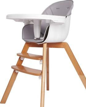 Grotime-Lyon-Timber-High-Chair on sale