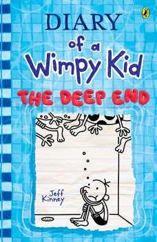 The-Deep-End-Diary-of-a-Wimpy-Kid-Book-15 on sale