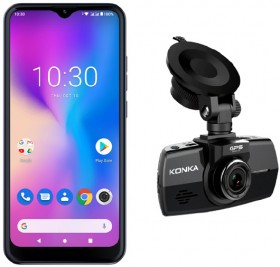 Konka-SE2-Smart-Phone-DE1-Dashcam-Bundle on sale
