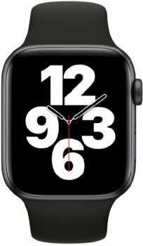 Apple-Watch-SE-GPS-44mm-Space-Grey-Aluminium-with-Black-Sports-Band on sale