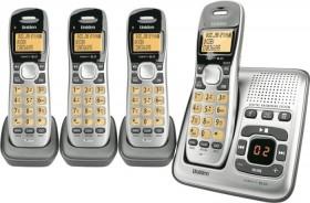 Uniden-Cordless-Phone-Quad-Pack on sale