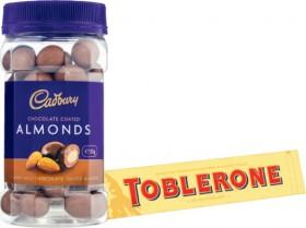 Cadbury-Chocolate-Coated-Fruit-or-Nut-Jar-310g-390g-or-Toblerone-360g on sale