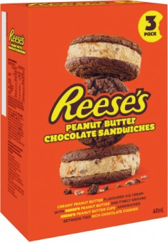 Reeses-or-Hersheys-Round-Sandwich-Sticks-or-Cones-3-Pack-4-Pack-or-Tub-473mL on sale