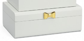 Harlow-Large-White-Jewellery-Boxes-with-Bow on sale