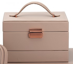 Isabella-Blush-Rose-Tone-Auto-Jewellery-Box on sale