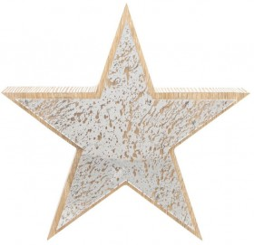 Australian-House-Garden-Plywood-and-Mercurised-Mirror-LED-Star-28cm on sale