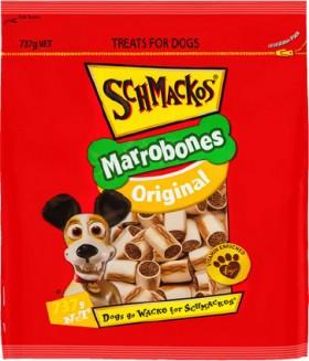 Schmackos-Marrobones-Dog-Treats-737g on sale