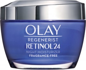 Olay-Regenerist-Retinol24-Face-Cream-Moisturiser-50g on sale