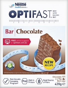 Optifast-VLCD-Bar-Chocolate-70g-6-Pack on sale
