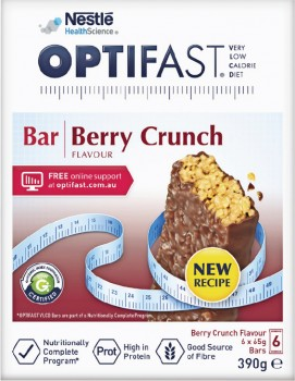 Optifast-VLCD-Bar-Berry-Crunch-Flavour-65g-6-Pack on sale