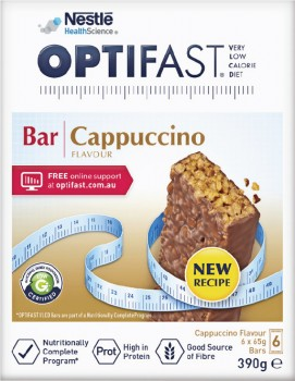 Optifast-VLCD-Bar-Cappuccino-Flavour-65g-6-Pack on sale