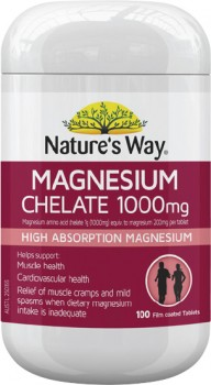 Natures-Way-Magnesium-Chelate-100-Tablets on sale