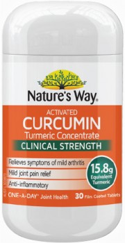 Natures-Way-Activated-Curcumin-Turmeric-Concentrate-30-Tablets on sale