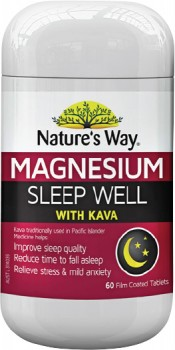 Natures-Way-Magnesium-Sleep-Well-with-Kava-60-Tablets on sale