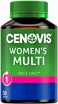 Cenovis-Once-Daily-Womens-Multi-50-Capsules on sale