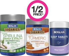 12-Price-on-Selected-Bioglan-Products on sale