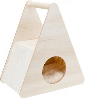 Wooden-Cat-Scratcher on sale