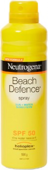 Neutrogena-Beach-Defence-Sunscreen-Spray-184g on sale