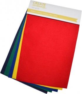Create-Handmade-5-Pack-Felt-Sheets on sale