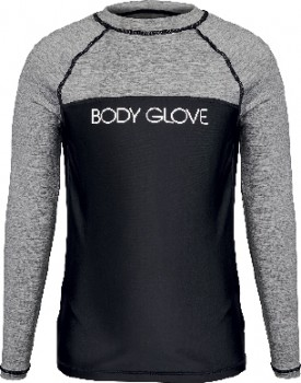 Body-Glove-Youth-Contrast-Chest-Panel-Long-Sleeve-Rash-Vest on sale