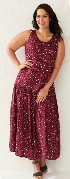 Sara-Tiered-Maxi-Dress on sale