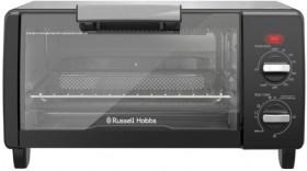 NEW-Russell-Hobbs-Mini-Toaster-Oven-Black on sale