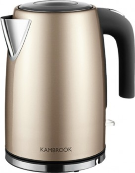 Kambrook-Deluxe-Collection-Kettle-1.7-Litre-Champagne on sale