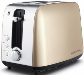 Kambrook-Deluxe-Collection-2-Slice-Stainless-Steel-Toaster-Champagne on sale