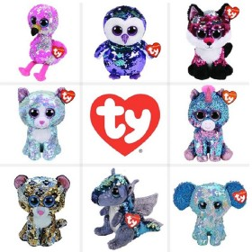 TY-Beanies-Assorted-Flippables-Med-CDU-A-Plush on sale
