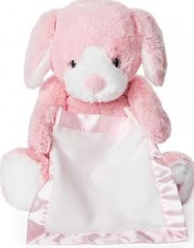 NEW-GUND-Peek-A-Boo-Plush-Pink-Puppy on sale
