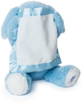 NEW-GUND-Peek-A-Boo-Plush-Blue-Puppy on sale