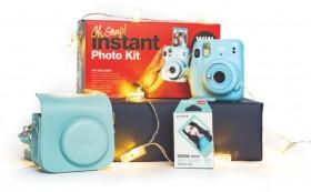 Instax-Instant-Photo-Kit-Sky-Blue on sale