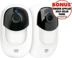 Uniden-1080p-Smart-Wi-Fi-Security-Camera-2-Pack on sale