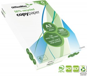 OfficeMax-50-Recycled-Copy-Paper on sale