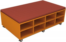 Mobile-Cushion-Top-Tote-Trolley on sale